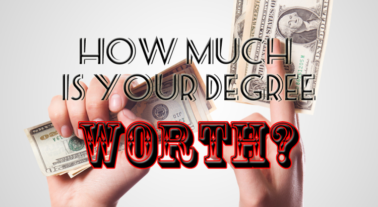 How much is your degree worth?